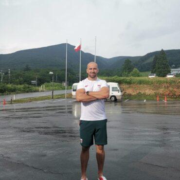 Bartłomiej Stój - wielokrotny Mistrz Polski w rzucie dyskiem weźmie udział w Igrzyskach Olimpijskich w Tokio